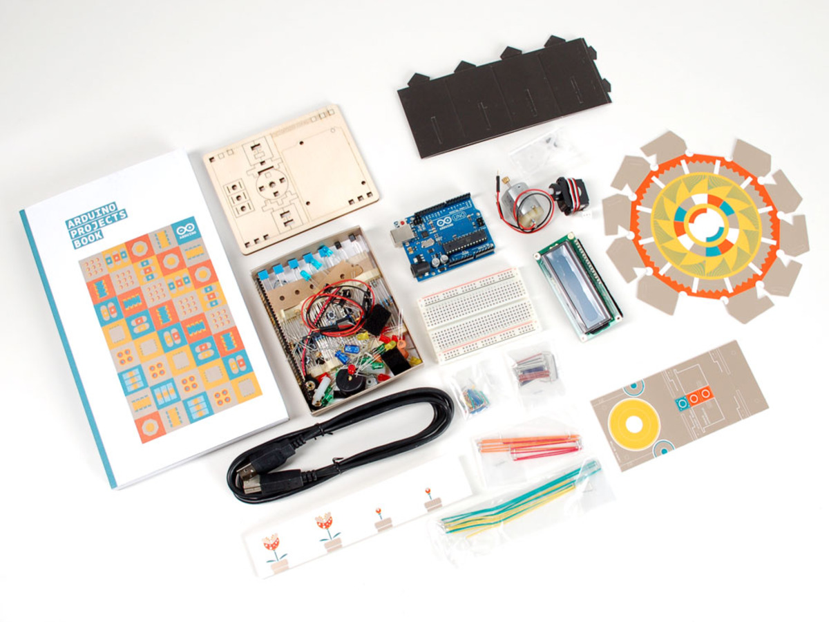 Arduino starter kit unboxing makerhome